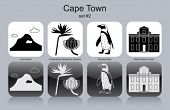 stock photo of jackass  - Landmarks of Cape Town - JPG