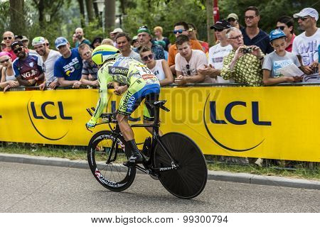 The Cyclist Rafal Majka - Tour De France 2015