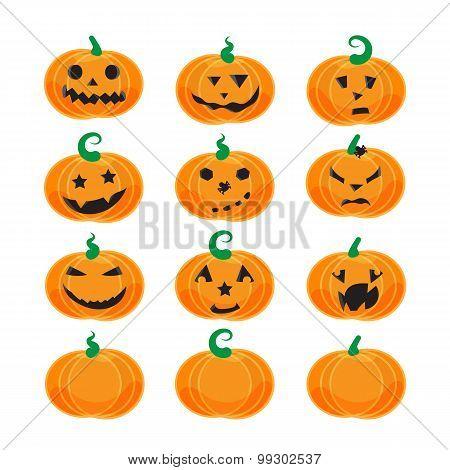 Emotional Halloween Pumpkins