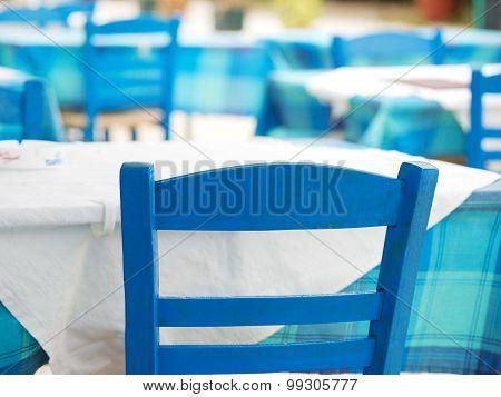 Typical Greek Restaurant