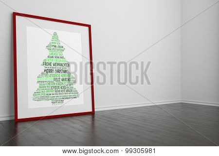 Christmas tree with