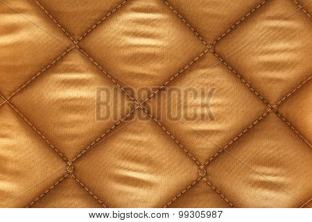 Beige Checkered Fabric