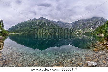 Mountain Lake in Poland