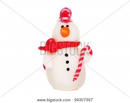 Handmade Snowman, Christmas Decoration