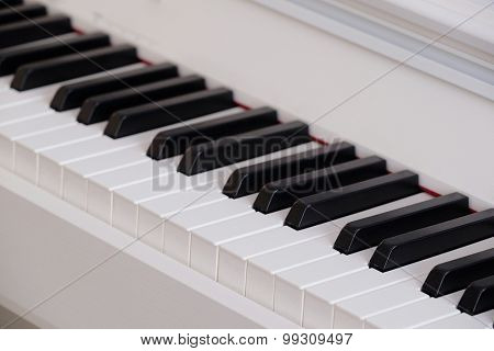 The image of piano keys