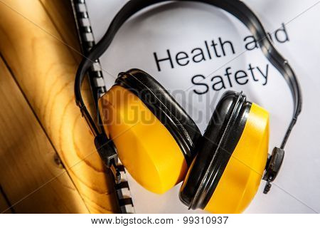 Health And Safety Book With Earphones
