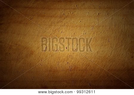 Closeup of scratched wood texture
