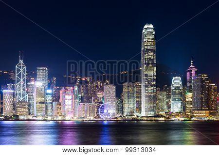 Hong Kong and modern building