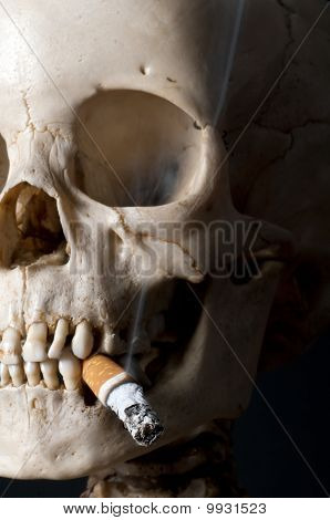 Smoking Scull