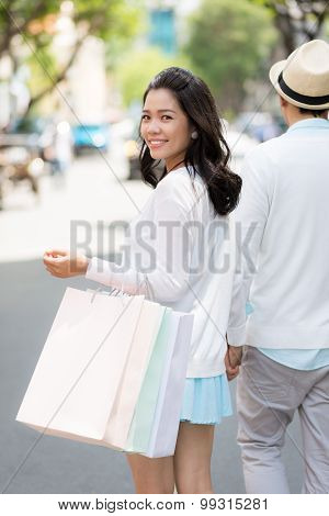Walking With Boyfriend