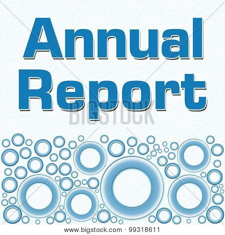Annual Report Blue Bottom Rings