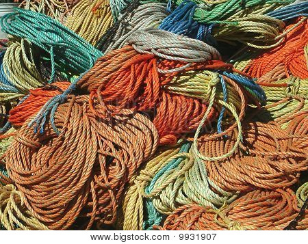 Colored rope