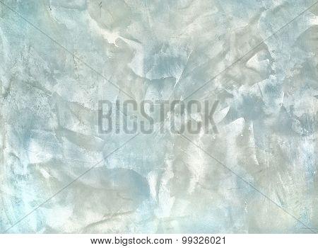 Decorative Plaster Blue And White Colo