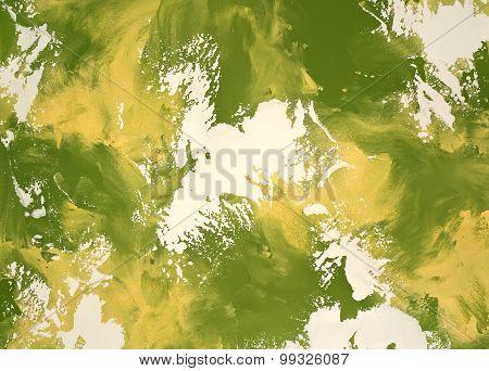Decorative Plaster Yellow-green