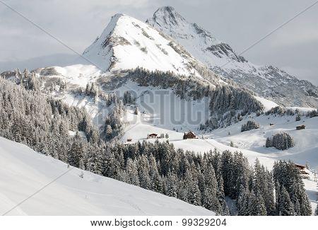 Mount Biberkopf, Warth Am Alberg,Vorarlberg, Austria
