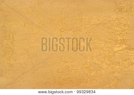 Plaster Model Gold Color