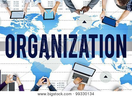 Organization Company Group Corporate Diverse Concept
