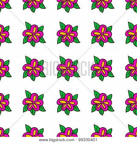 Seamless Pattern With Bee - 6