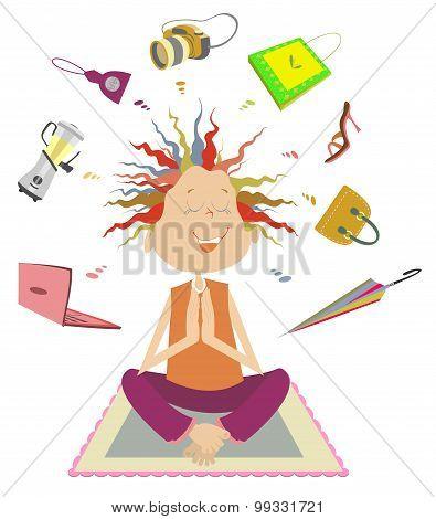 Purchases meditation