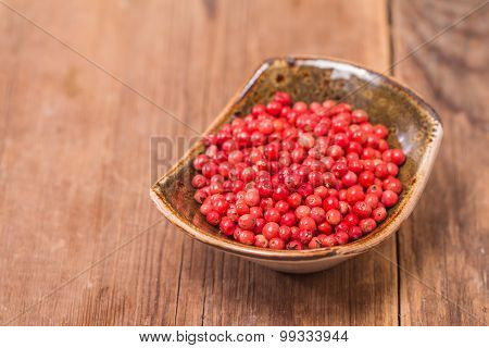 Red Pepper, Peppercorns