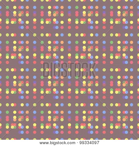 abstract dot seamless pattern