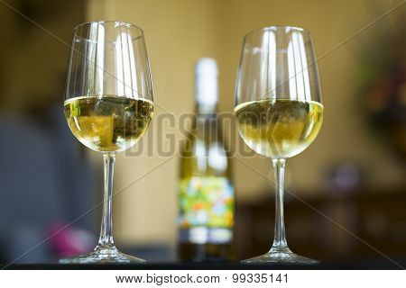 White Wine At Home