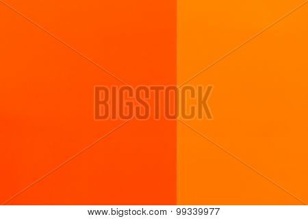 Two Tone Orange Painted Wall Texture