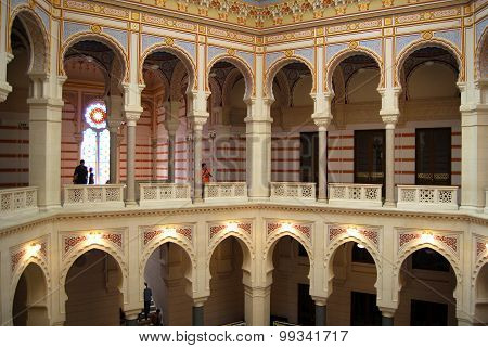 Vijecnica, Sarajevo City Hall and National and University Library SARAJEVO,BOSNIA- JULY 13, 2015