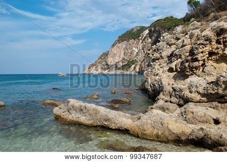 Coast Of Corfu