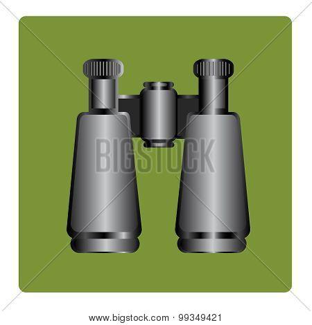 binoculars icon , vector illustration