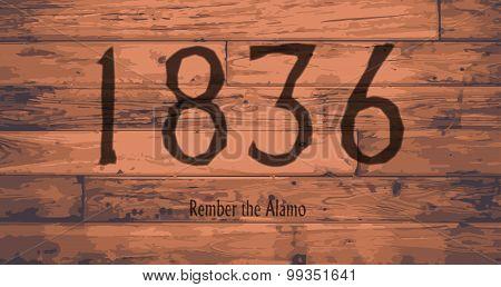 1836 The Alamo Date Brand