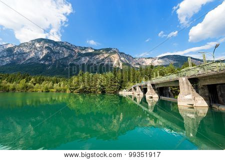 Old Dam On The Gail River - Austria