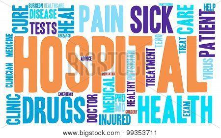 Hospital Word Cloud