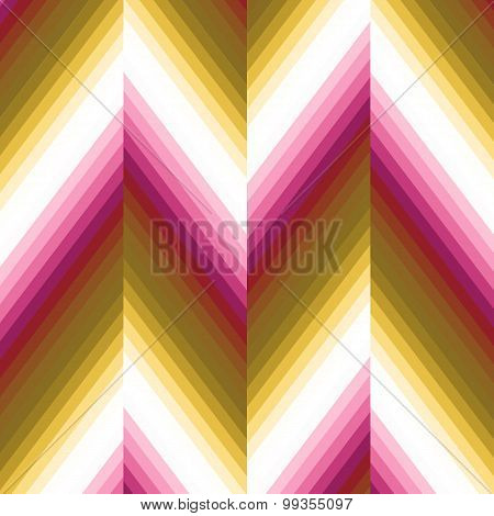 Vector Bright Zigzag Pattern