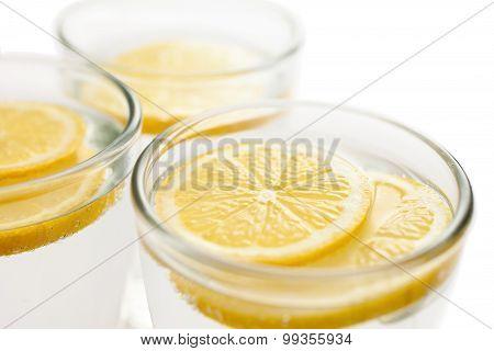 Lemon Slices In Water