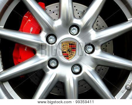 detail of Porsche