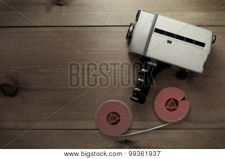 Vintage Filmmaking Camera