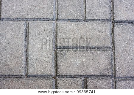 Modern stone street road pavement texture, Brick pavement