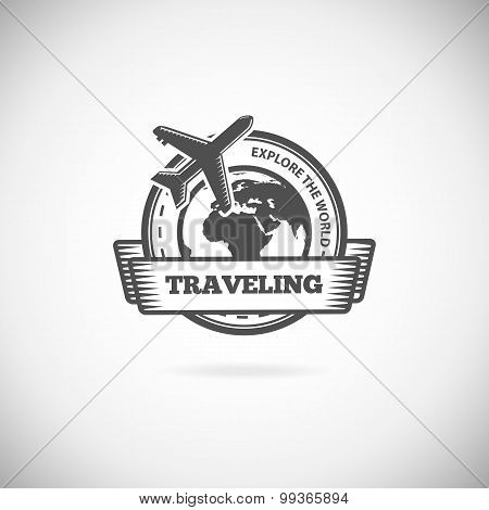 Travel Logo element template