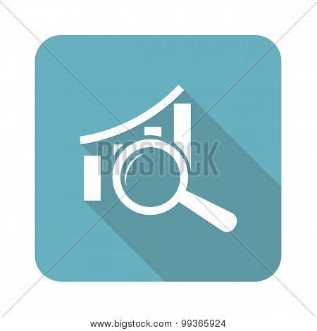 Graphic details icon, square