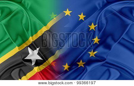 European Union and Saint Kitts and Nevis.