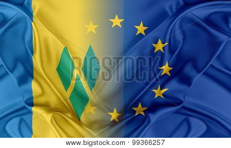 European Union and Saint Vincent and the Grenadines.