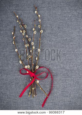 catkins bouquet