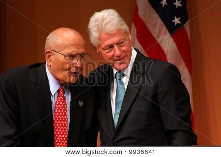 President Clinton And Congressman Dingell