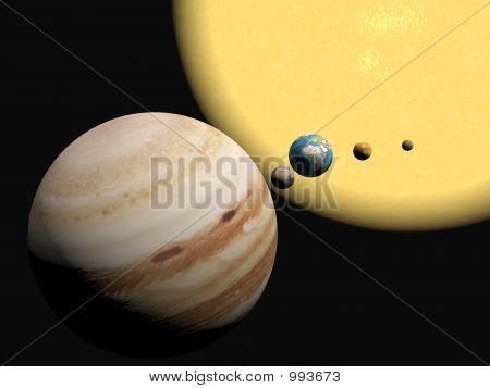 El sistema Solar, presentación de Abstract.