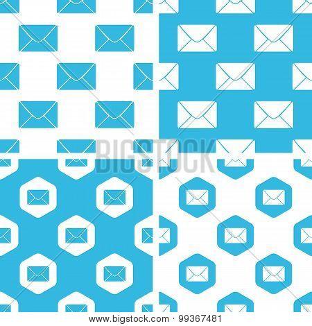 Letter patterns set