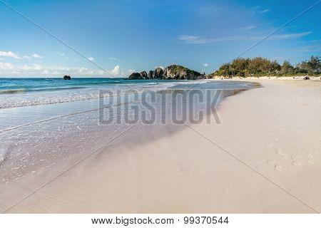 Beach at Horseshoe Bay, Bermuda.