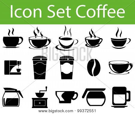 Icon Set Coffee I