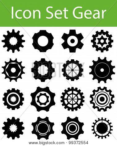 Icon Set Gear I