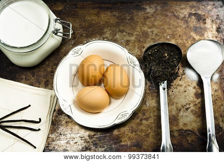 Rustic Food Ingredients